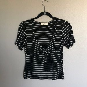 Urban Outfitters Tie Front Top